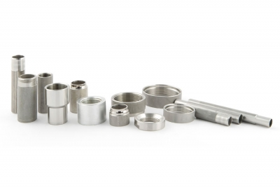 Nozzles and machined components